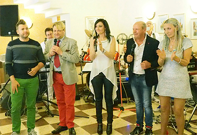 Michele Rodella, Roberto Tagliani, Selena Valle, Gigio Valentino, Daniela Rosy